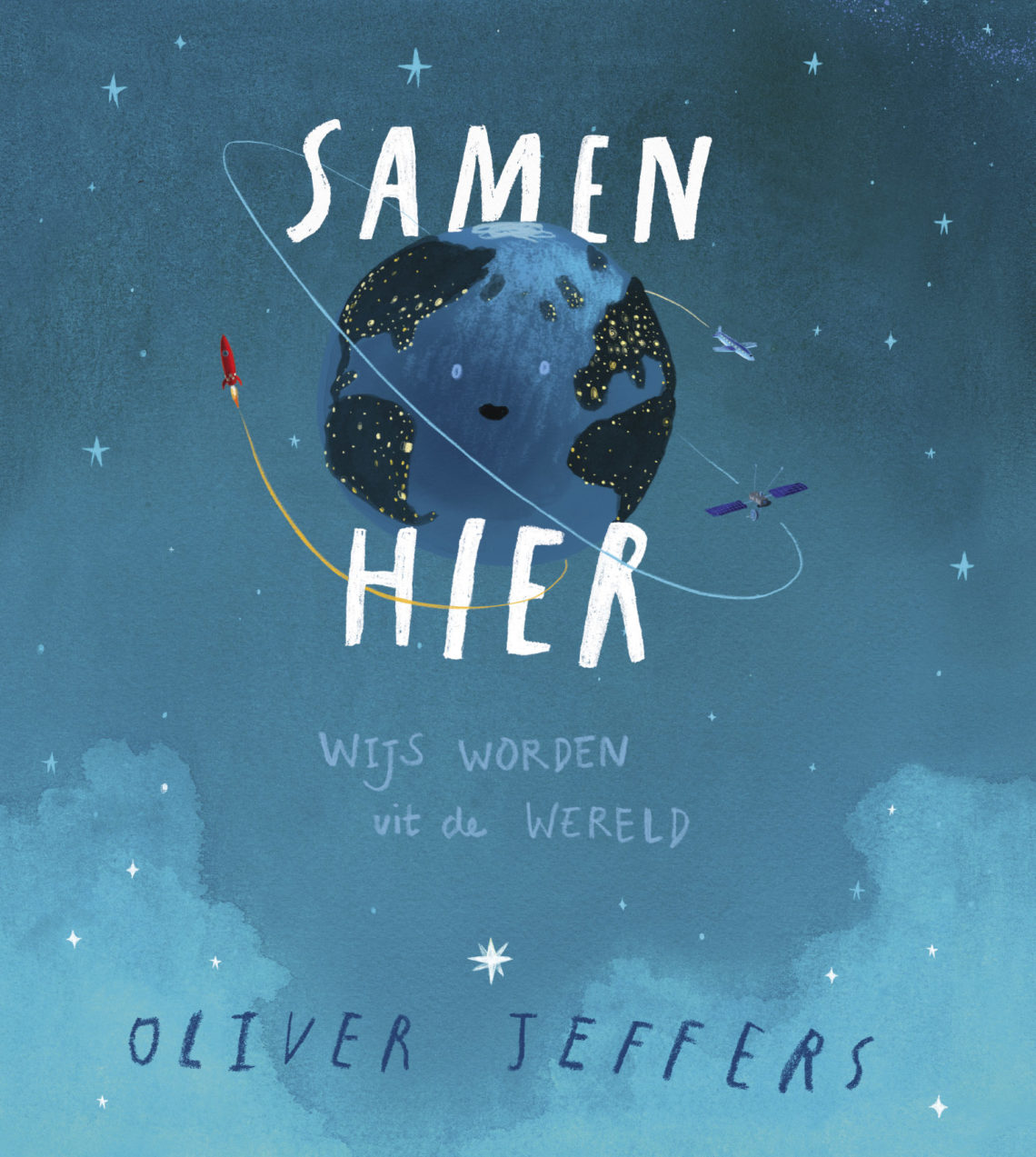 Samen hier van Oliver Jeffers Here we are