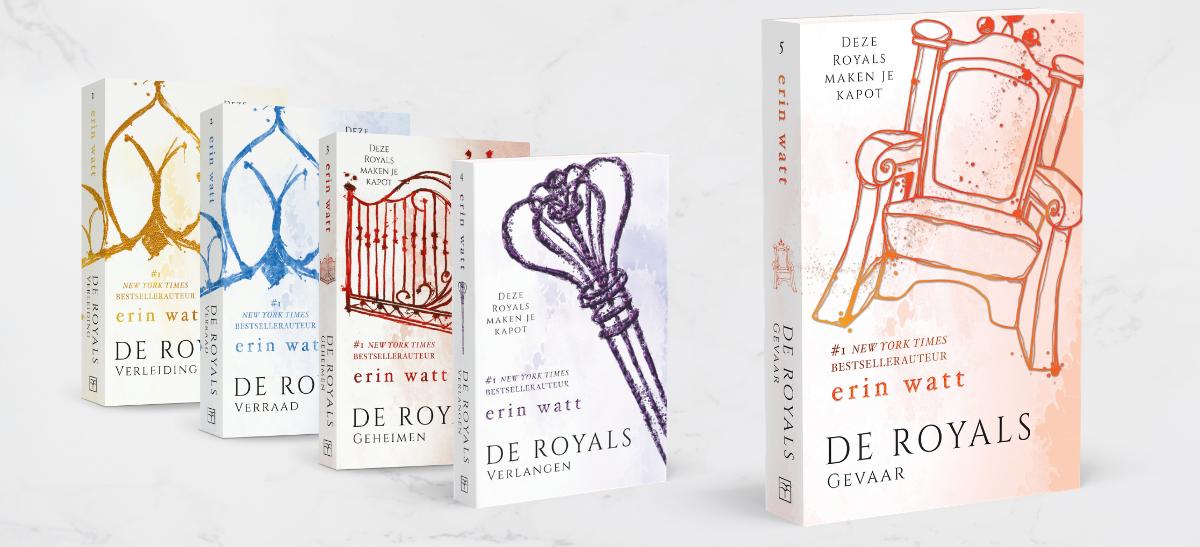Uitgeverij De Fontein   Royals deel 5 gevaar
