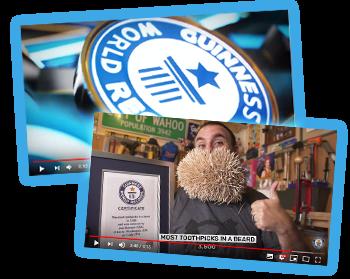 Guinness World Records 2020 filmpjes