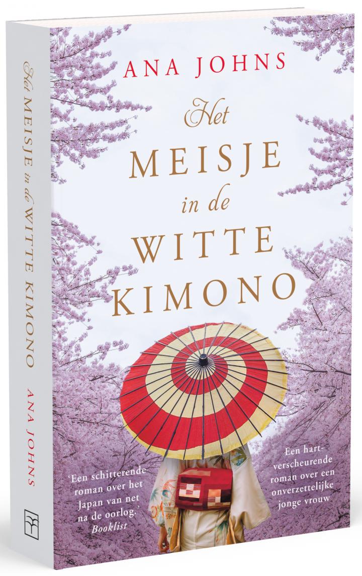 3D cover Het meisje in de witte kimono