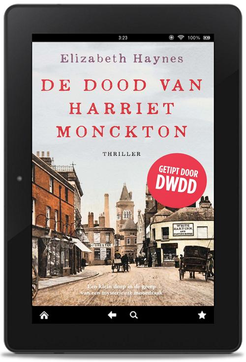 E-book De dood van Harriet Monckton