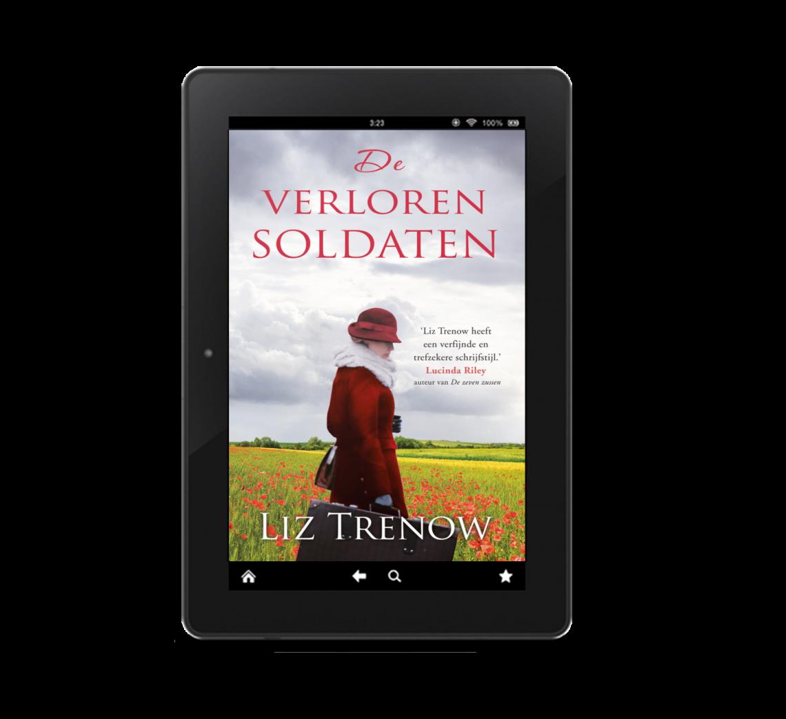 Eerste Wereldoorlog romans e-books cover Trenow