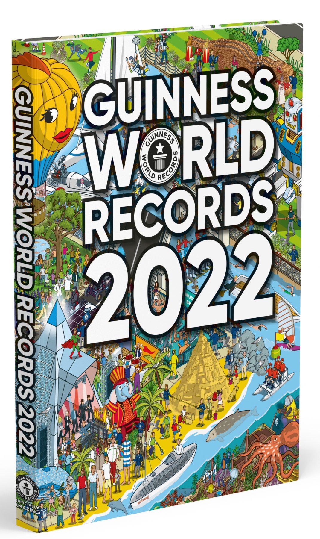 Guinness World Records 2022 3D-boek