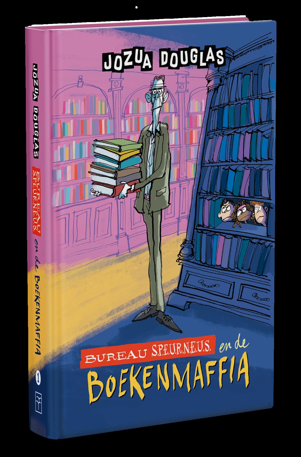 Bureau Speurneus en de boekenmaffia 3D boek